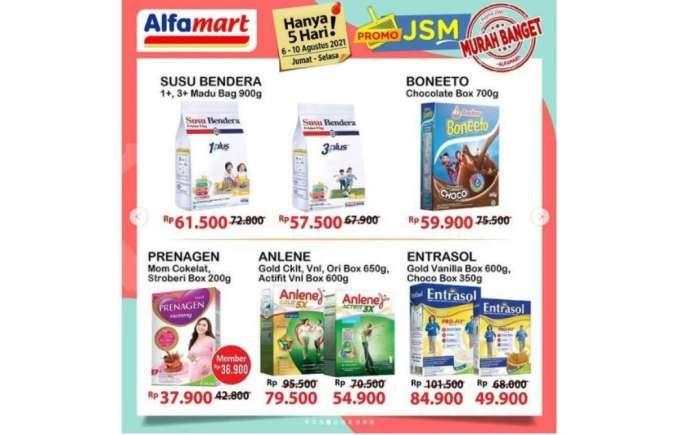 Promo JSM Alfamart 6-10 Agustus 2021