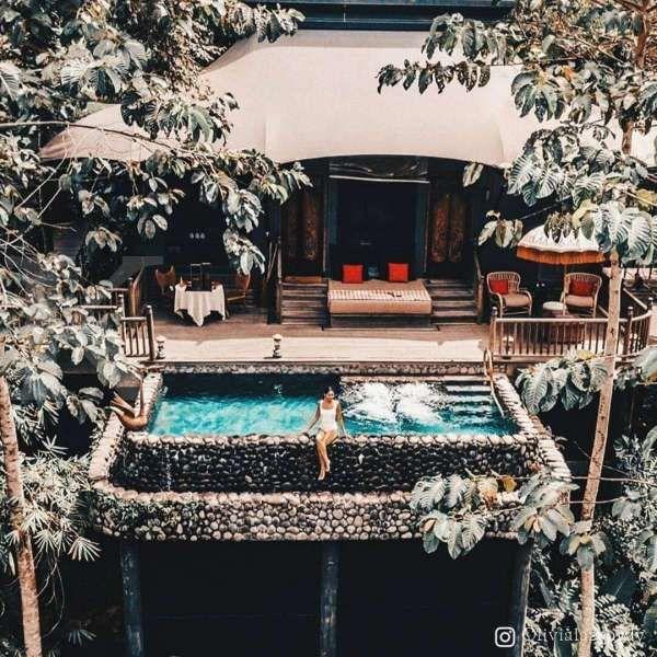 Hotel Capella Ubud, mendapat penghargaan nomor 1 pada hotel terbaik di dunia 2020