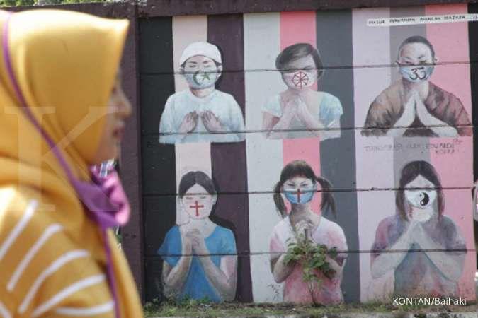 Kasus positif corona di Indonesia tembus 1,9 juta kasus