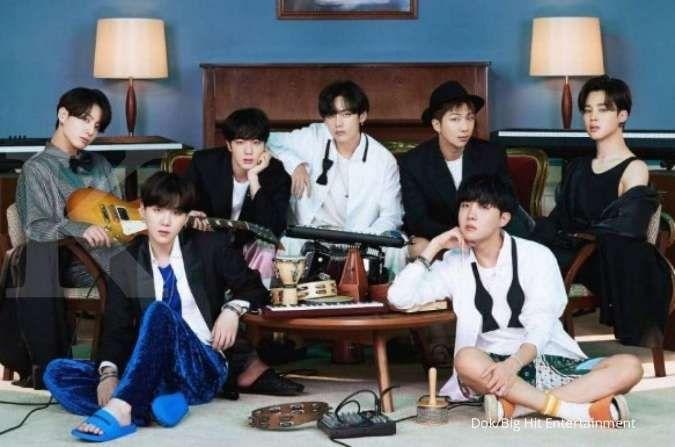 BTS hingga NCT dan EXO masuk 10 besar boy group K-Pop terpopuler di Desember 2020