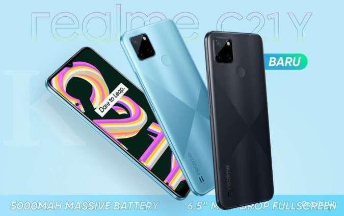 Pilihan HP murah baru dari Realme, berikut spesifikasi dan harga HP Realme C21Y