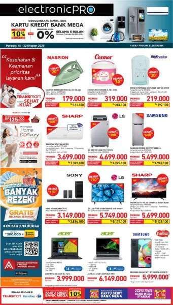 Promo Transmart Carrefour 16 20 Oktober 2020 Hemat 5 Hari
