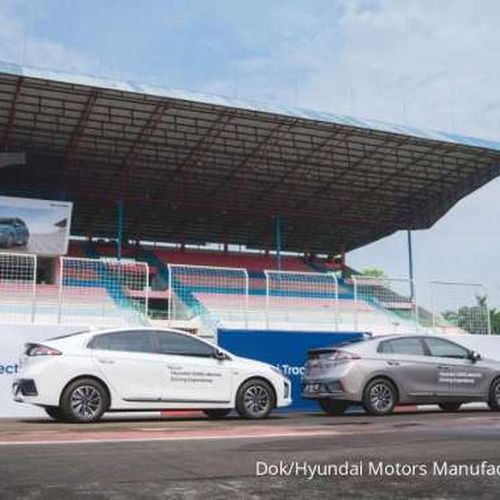Hyundai Track Day 2021: Pengalaman Menyeluruh Berkendara Mobil Listrik Persembahan Hyundai Motors Indonesia