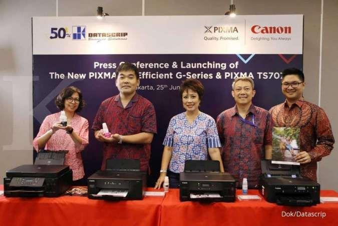 Datascrip luncurkan printer Canon PIXMA TS707 untuk UKM