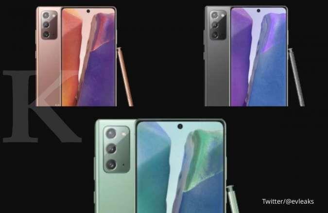 Mengintip spesifikasi Samsung Galaxy Note 20 yang segera rilis 5 Agustus nanti