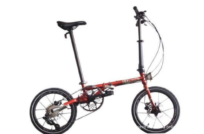 Sepeda lipat Element Troy X 9SP