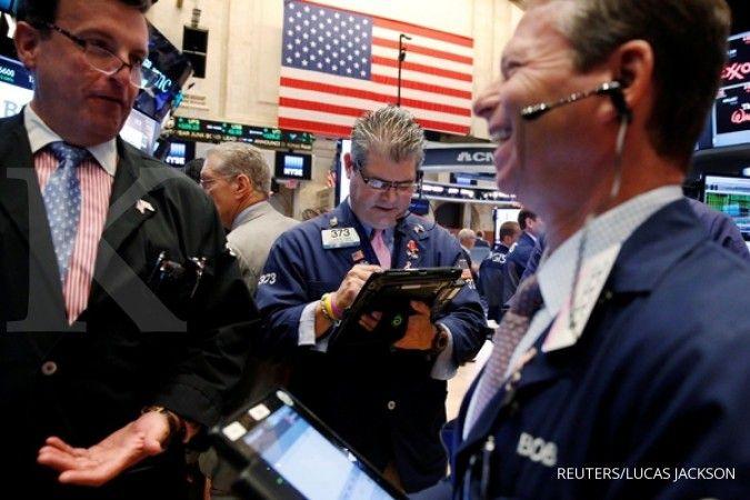 Nasdaq menuju rekor, Dow Jones hanya naik tipis