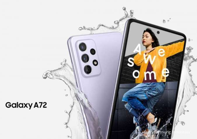 Cek harga HP Samsung A72 terbaru, varian terbaik m