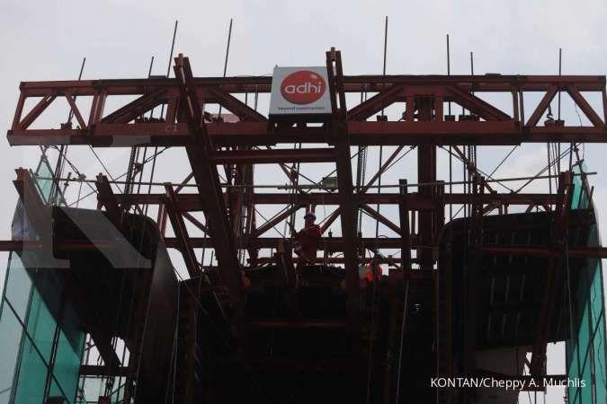 Adhi Karya targetkan kontrak baru di 2021 capai Rp 24 triliun