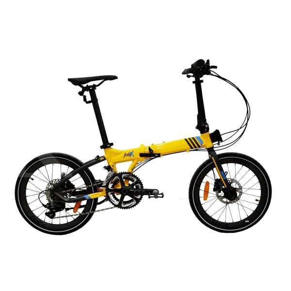 Gahar dan modern, harga sepeda lipat Foldx 9 Z11 limited edition ringan di kantong