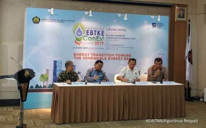 Pameran energi terbarukan EBTKE ConEX 2019 digelar November mendatang