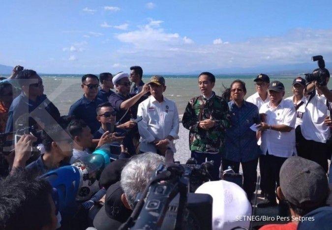 Presiden: Saya tidak melihat ada penjarahan toko makanan di Palu