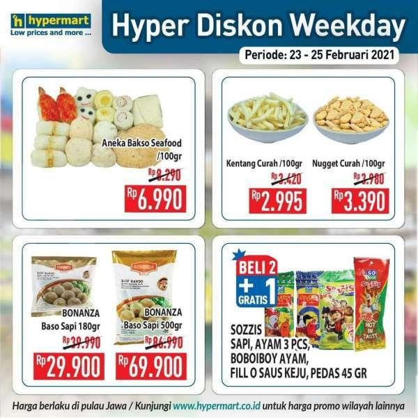 Promo Hypermart weekday 23-25 Februari 2021