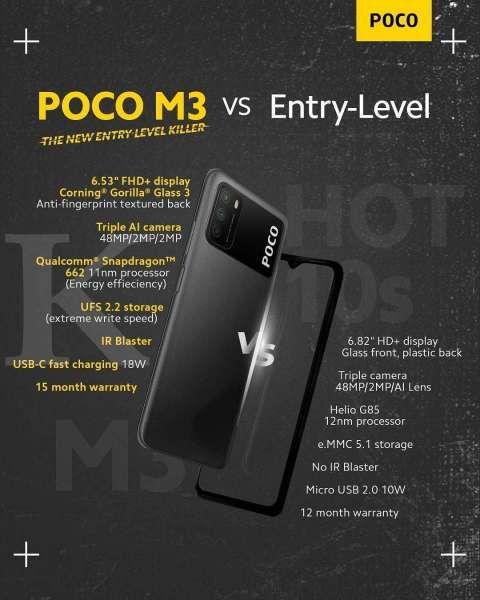 Spesifikasi POCO M3