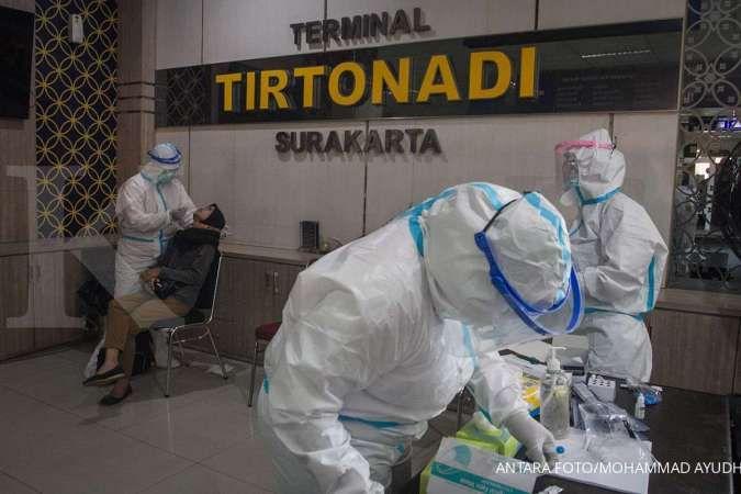 Menhub Budi Karya dan Wali Kota Solo Gibran blusukan ke Terminal Tirtonadi