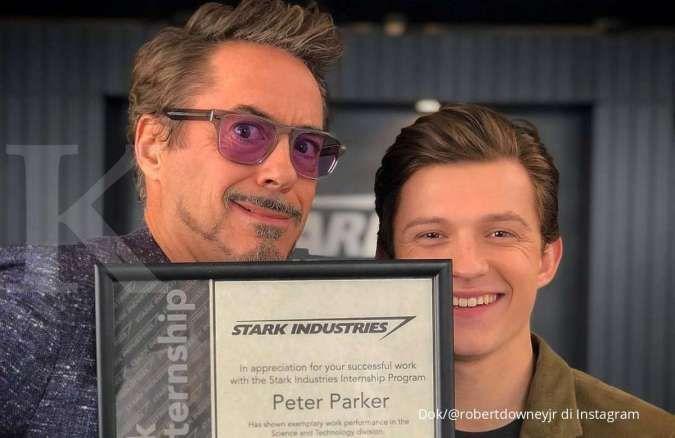 Robert Downey Jr. puji film terbaru Tom Holland arahan sutradara Avengers: Endgame