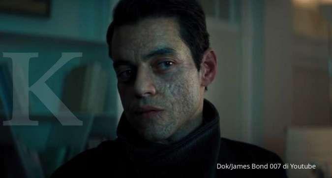 No Time To Die, aktor Rami Malek sebagai karakter misterius melawan James Bond.