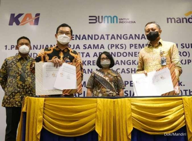 Bank Mandiri siapkan pembiayaan bagi vendor PT Kereta Api Indonesia