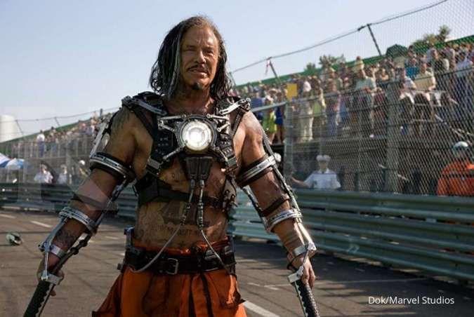 Sindir Marvel, begini kata Mickey Rourke pemeran villain di film Iron Man 2