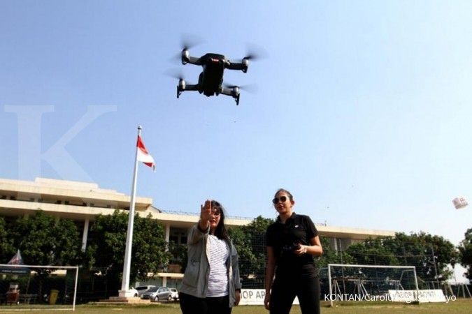 Terra Drone Indonesia dirangkul ITB dalam penelitian drone LiDar