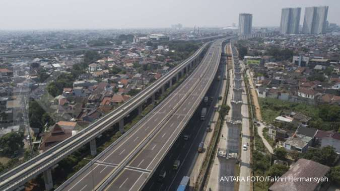 Saat PPKM Darurat, lalu lintas di Tol Jasa Marga (JSMR) anjlok 40%