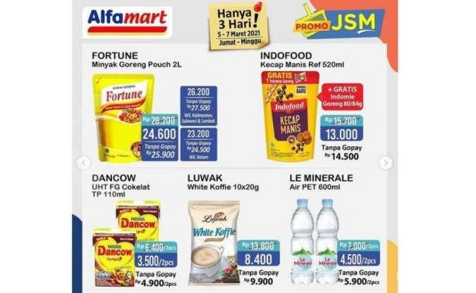 Promo weekend Alfamart