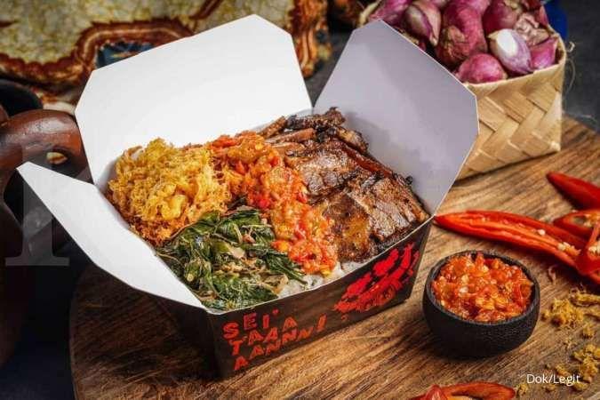 Legit Group siap memperlebar sayap bisnis pesan antar makanan ke Jabodetabek dan Bali