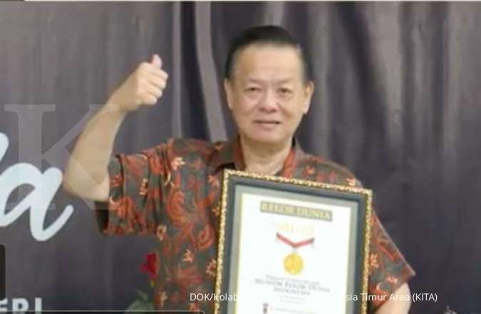 Program tebar hewan kurban dari Kolaborasi KITA diganjar penghargaan Rekor MURI