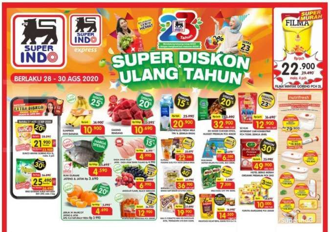 Promo JSM Superindo 28-30 Agustus 2020, diskonan hari ini!