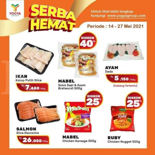 Paling baru! Promo Yogya Supermarket weekday 18 Mei 2021, Serba Hemat di hari kerja