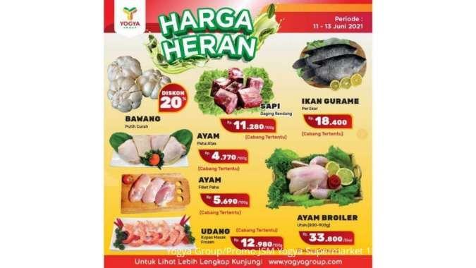 Promo JSM Yogya Supermarket Harga Heran 11-13 Juni 2021, diskonan weekend!
