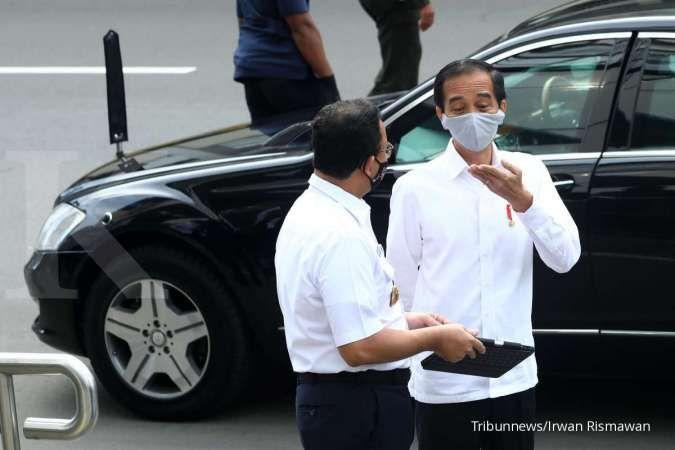 3 Instruksi Jokowi ke Anies dan jajarannya untuk tekan kasus Covid-19 di ibu kota
