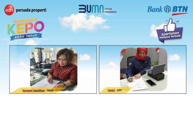 BTN gandeng Adhi Persada Properti gelar program Kepoin Akhir Tahun