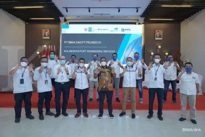 PT BIMA pererat kolaborasi engineering pelabuhan dengan Pelindo IV