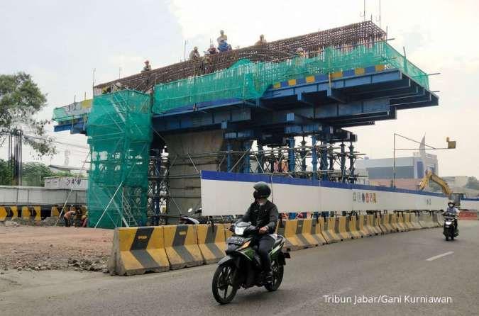 Kementerian PUPR targetkan flyover Kopo Bandung rampung Februari 2022