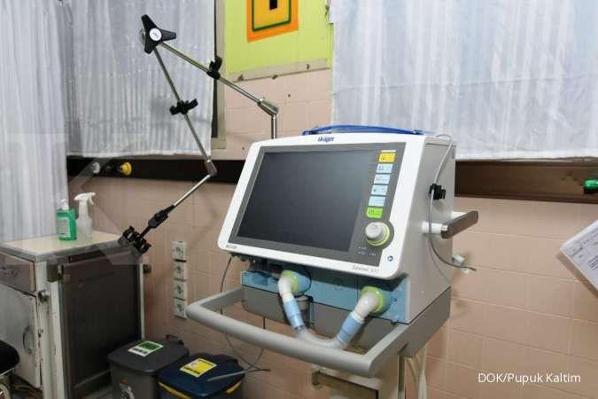 RS Pupuk Kaltim menambah ruang ICU khusus Covid-19 menjadi total 9 kamar