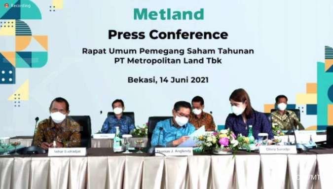 Metropolitan Land (MTLA) akan bagikan dividen Rp 54 miliar
