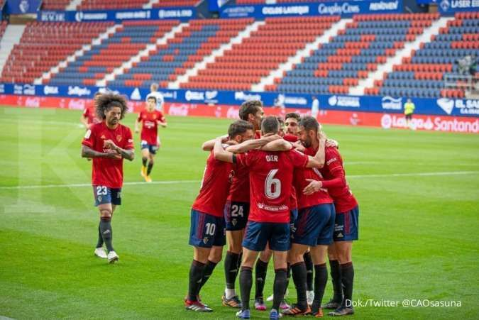 Jelang laga Real Madrid vs Osasuna di La Liga Spanyol