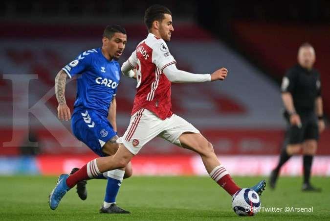 Hasil laga Arsenal vs Everton di Liga Inggris