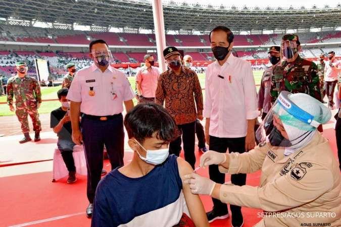 Hore! Target Presiden Jokowi 7,5 juta vaksinasi corona di Jakarta bisa tercapai