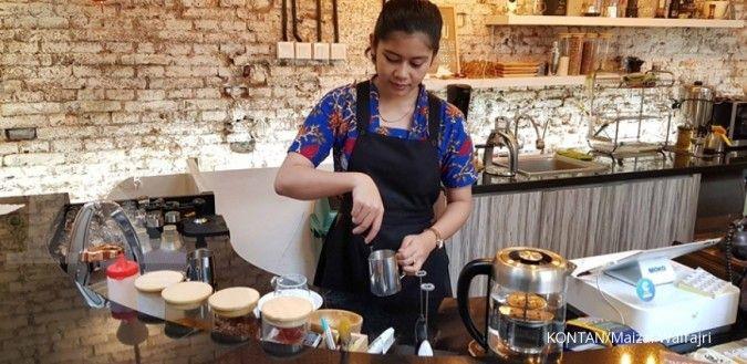 Menikmati jamu ala kafe kekinian Kota Tua