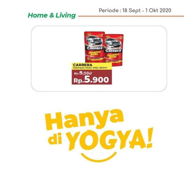 Katalog promo Yogya Supermarket hari ini 23 September 2020, masih ada diskon!