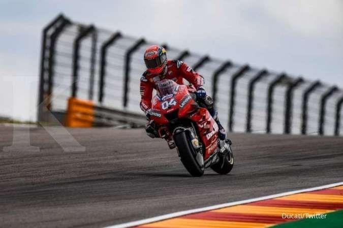 Pembalap MotoGP Andrea Dovizioso hengkang dari tim Ducati