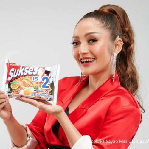 Siti Badriah Resmi Menjadi Brand Ambassador Mie Suksess Isi 2, Berharap Mampu Menginspirasi Sobat Suksess di Tanah Air