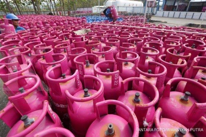 Konsumsi Bright Gas 5,5 kilogram naik 21%