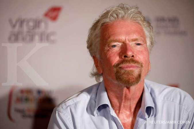 Buat pengusaha muda, ada nasihat berbisnis dari miliarder Inggris, Richard Branson