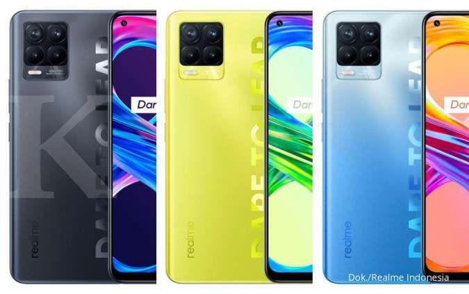 Varian warna Realme 8 Pro