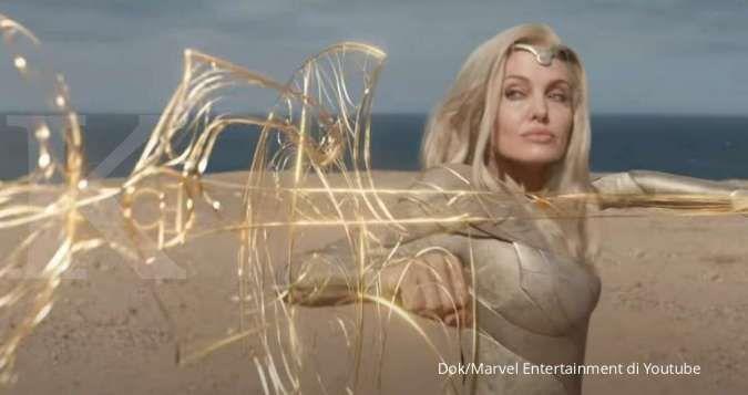 Eternals rilis teaser baru, Marvel tampilkan aksi Angelina Jolie dan Ma Dong Seok
