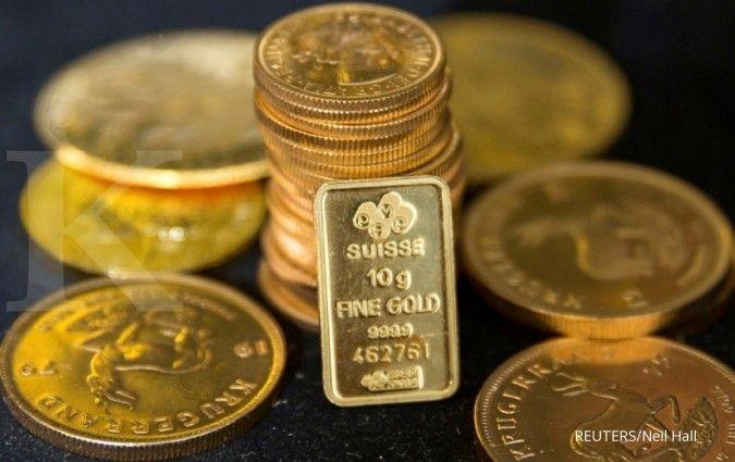 AS gempur Irak dan Suriah, harga emas hari ini sentuh level tertinggi