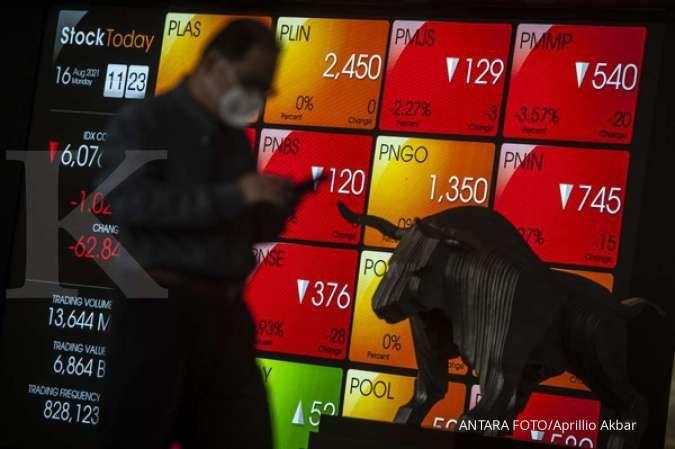 IHSG dibuka melemah, berikut rekomendasi saham untuk trading Senin (20/9)